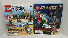 Lego Pirates Brickmaster and Atlantis Brickmaster. Unopened