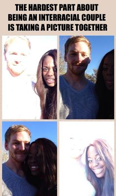 This is so funny and I feel awful for laughing but omg!!! Problems!! | See more about interracial couples, thoughts and taking pictures.