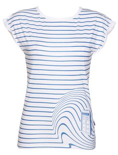 Ladies TARDIS Swirl Doctor Who T Shirt from BBC Worldwide at Amazon Women's Clothing store: