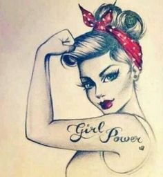 girl power (: with tatt<3 - tatt<3 | on Fashionfreax you can discover new designers, brands & trends.