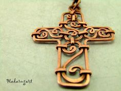 Copper Artwork, Symbols, Letters, Romani, Handmade, Hand Made, Icons, Craft, Lettering
