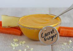Carrot-Ginger Dressing (AIP, Paleo) - half recipe works fine in smaller blendtec jar