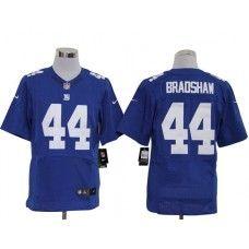 8db219036 Nike Ahmad Bradshaw Jersey Elite Team Color Blue New York Giants  44 New  York Giants