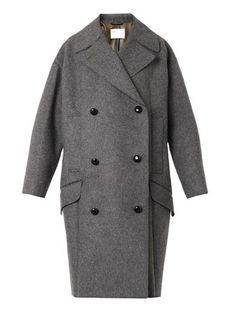 Bonded wool-blend coat   Toga Archives   MATCHESFASHION.COM