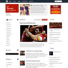 Le Journal WordPress Theme