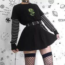 Cute Punk Outfits, Edgy Outfits, Goth Girl Outfits, Black Outfit Edgy, Rock Outfits, Hipster Outfits, Office Outfits, Simple Outfits, Classy Outfits