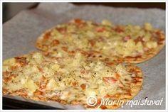 Rieskapizza Recipes From Heaven, Cauliflower, Macaroni And Cheese, Pizza, Baking, Vegetables, Ethnic Recipes, Koti, Food Heaven