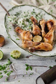 Thai-Inspired Chicken Legs | Foodienarium
