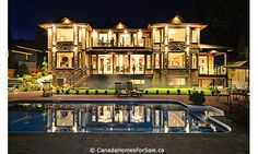 My absolute dream home, west vancouver, BC. Oh, so amazing. In love with this house since 2009.