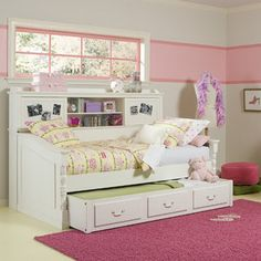 Legacy Classic Furniture Olivia Daybed with Trundle Collection