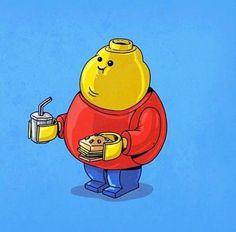 Se le icone pop fossero obese: da Alien alla Fata Turchina, 47 ritratti grassi - Corriere.it