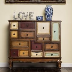Distressed Wood Furniture, Painted Furniture, Diy Garden Furniture, Furniture Ideas, Funky Furniture, Colorful Furniture, Handmade Furniture, Repurposed Furniture, Luxury Furniture