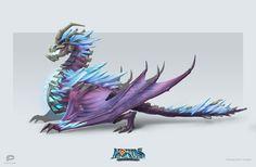 ArtStation - Ice Dragon, Alexander Dudar