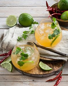 Checkers winter warmer drinks recipes!  Hot and Sour Whiskey - check more great drinks recipes in the link.