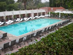 Poolside & Cabanas at The Beverly Hills Hotel
