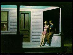 Edward Hopper - Summer evening
