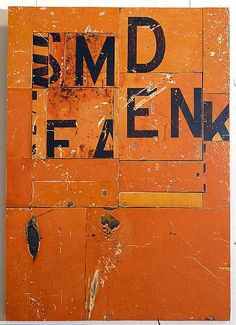 """Billboard"" by Rosalie Gascoigne (1917-1999)"