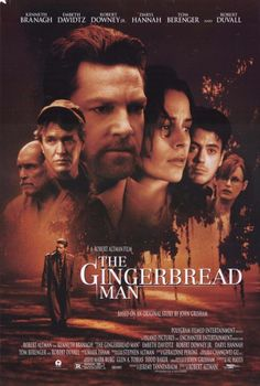 The Gingerbread Man Movie Poster 1998
