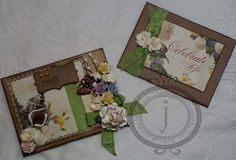 Gift card (R) with decorated Maya Road envelope (L). Click the image for details and close-up pics:)