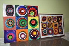 Kandinsky Lid Art | Recyclart