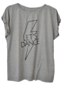Tamanho Único Let's Dance #moda #dance #grey #fashion #womenfashion