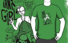 I found 'tank girl comic 2 T-Shirt by kennypepermans' on Wish, check it out!