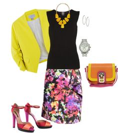"""""""Sunny Office Outfit"""" by trinavokes on Polyvore"""