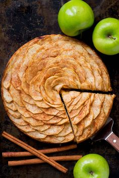 This Apple Tart is a looker! It's crowned with a beautiful rose pattern of sliced apples (and it's easier than you think!). The juices from the cinnamon-sugar coated apple slices, bake into the buttery soft crust. This apple rose tart is lightly sweet and completely irresistible. Easy, excellent apple tart recipe!