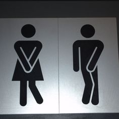 toilets #signs #illustrations #funny