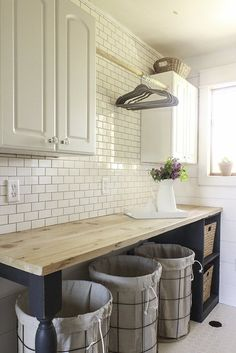 farmhouse laundry room reveal, home decor, home improvement, laundry rooms