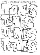 Tone Worksheet by TheArtyTeacher - Teaching Resources - Tes