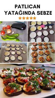 Fabulous Vegetables in Eggplant Bed - Delicious Recipes Musaka, Wie Macht Man, Iftar, Turkish Recipes, C'est Bon, Vegetable Recipes, Eggplant, Brunch, Food And Drink
