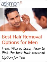 Male hair removal is different - Find the best option for you, including all the latest technological advancements!