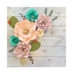 6 pc fiesta boho blush pink peach cactus bridal shower baby shower home decor by PaperFlowerPassion on Etsy https://www.etsy.com/listing/594121766/6-pc-fiesta-boho-blush-pink-peach-cactus