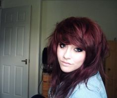 36 Deep Burgundy Brown L'Orea hair color | Tumblr
