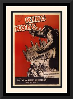 Vintage King Kong Red