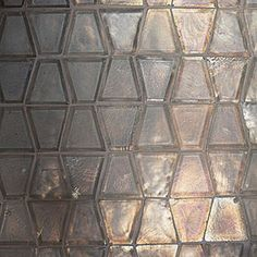 Ann Sacks Profile glass tile backsplash.