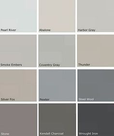 Gray Paints - Benjamin Moore