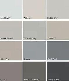 Gray Paints - Benjamin Moore
