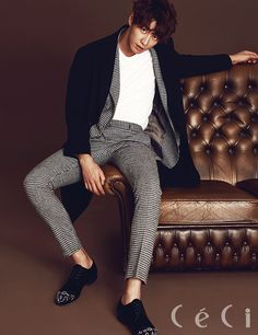 Kim Young Kwang - Ceci Magazine September Issue '15