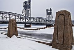 Stillwater Lift Bridge by Bill Donovan on Capture Minnesota // Shout out to Barb McLean & Sher Freebird for a wonderful day walking the streets of Stillwater
