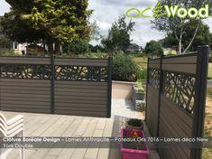 Back Garden Landscaping, Backyard Garden Design, Backyard Fences, Patio Design, House Main Gates Design, Hot Tub Patio, Gazebo Roof, Front Porch Makeover, Modern Fence Design