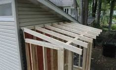 Build Backyard Sheds Faster Than You Thought. How to build shed in backyard. Lean To Roof, Lean To Shed, Shed Design, Roof Design, Lean To Shelter, Large Sheds, Big Sheds, Clutter Solutions, Free Shed Plans