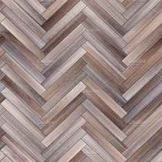 Seamless wood parquet texture (herringbone neutral) by Vdr0id on @creativemarket