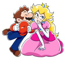 Lala's Blog Super Mario Bros Games, Super Mario Art, Super Smash Bros, Peach Mario, Mario And Princess Peach, Mario Fan Art, Mario Bros., Peach Tumblr, Paper Mario Games