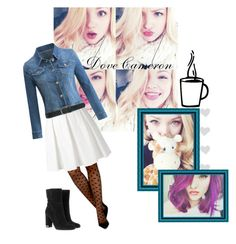 """""""Dove Cameron"""" by krgood7 on Polyvore featuring GET LOST, tabbisocks, Boutique Moschino, M&Co, MICHAEL Michael Kors, disney, descendents, dove, liv and mal"""