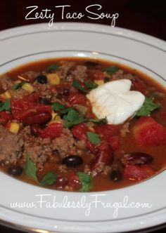 This Taco soup is the real deal. Fresh, authentic, and easy to make!