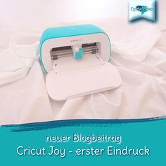 seit Anfang Jahr gibt es von Cricut den Miniplotter, die Joy, ideal für unterwegs und zum plotten für zwischendurch