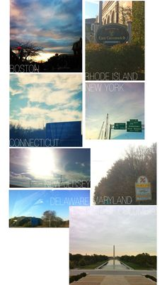road trip:: day 1