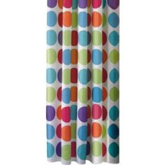 Buy ColourMatch Shower Curtain - Spots at Argos.co.uk - Your Online Shop for Shower curtains and poles.